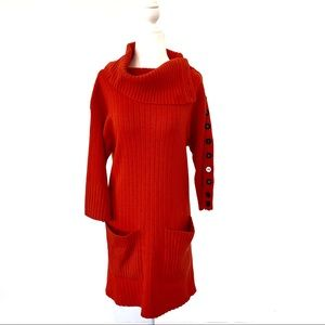 Catherine Malandrino cashmere sweater dress S #431